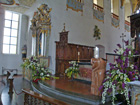 In der Kirche in Bad Waldsee